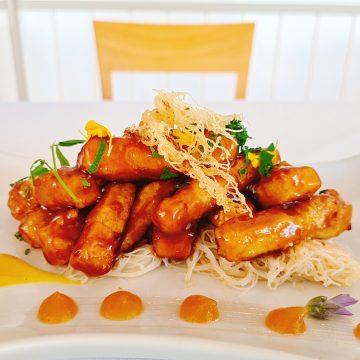 Crujiente de tofu
