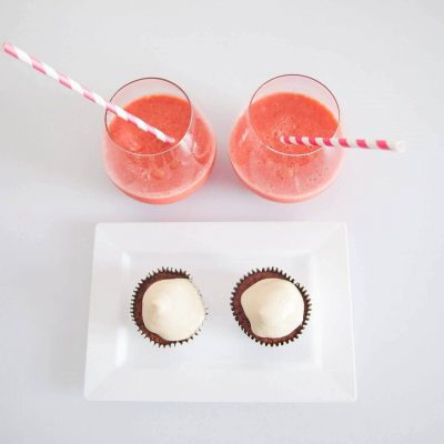 Straw And Muffin